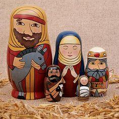 Nativity Nesting Dolls