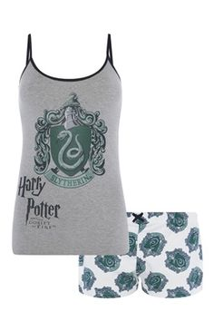koticzka: OH YES! Slytherin Cami Set in Primark. Obviously, not in Ireland, eh?