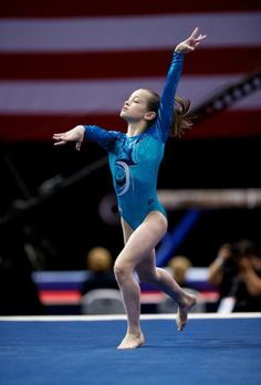 Norah Flatley. Love this girl especially on beam.