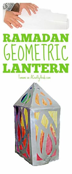 Learn how to craft these STEAM Ramadan geometric lanterns, Lanterns are classic of Ramadan decoration. Moon Projects, Projects For Kids, Art Projects, Crafts For Kids, Ramadan Crafts, Ramadan Decorations, Muslim Culture, Holidays Around The World, Creative Thinking
