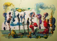 Gemäldemacher . Joachim JORI Niggemeyer: Evolution