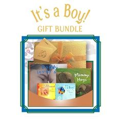 It's a Boy! - Gift Bundle - Includes 2 board books (Daddy Loves Me and Mommy Hugs) and 2 CDs (Mozart for Babies and It's a Boy). This bundle is filled with hugs, loves, and gentle sounds for your new little guy. $39.95