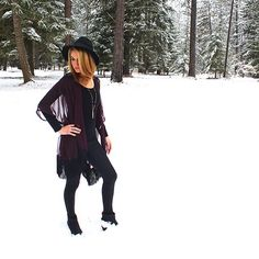Ready for winter with this HANDMADE kimono by BASK