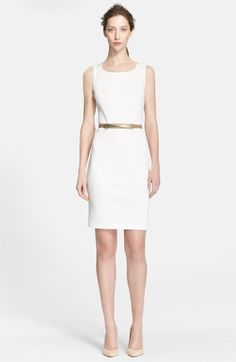 St. John Collection Milano Knit Sheath Dress available at #Nordstrom