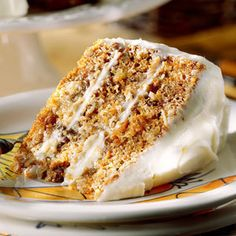 Paula Dean's Carrot Cake