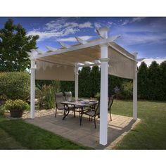 New England Arbors | Malibu Pergola | Home Depot Canada