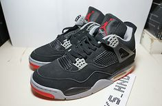 Nike Air Jordan IV 4 Retro Black Red 1999