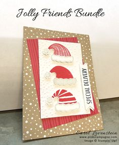 """Jolly Friends Bundle ~ Santa Hats 