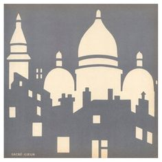 Check out this item at One Kings Lane! Sacré-Cœur Framed Print