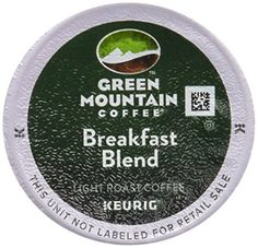 #Green Mountain Breakfast Blend Keurig K-Cups are one of our most popular blends. It has a rich taste and medium acidity. We think youll find this blend to be ba...