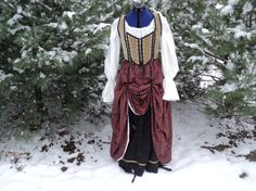 Scottish Highland maiden's components by HeritageDressmakers