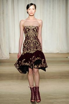Marchesa Fall 2013 COllection. #mindfashions #mindstyles