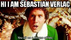 Not Sebastian he's Jonathan don't let him trick you!!!