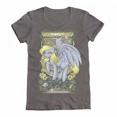 Clumsy Nouveau - derpy shirt by welovefine. Want