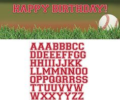 Creative Converting Sports Fanatic Baseball Giant Party Banner with Stickers, Multicolor Creative Converting http://www.amazon.com/dp/B00IYS9TH0/ref=cm_sw_r_pi_dp_lSqNwb1CTBQSE