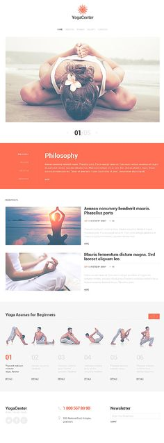Web design for wellness site Web Design Examples, Web Design Tips, Web Design Trends, Website Design Layout, Wordpress Website Design, Yoga Websites, Fashion Website Design, Web Design Mobile, Site Vitrine