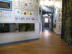 Our foyer is a beautiful and welcoming space  #reggioinspired #goodstart