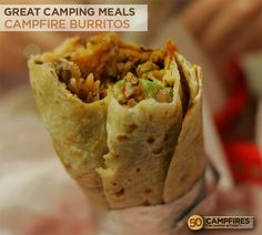 Easy Campfire Burritos http://www.kansascitysteaks.com/Classic-Ground-Beef.3.htm
