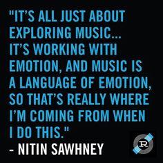 #MusicMonday - Nitin Sawhney