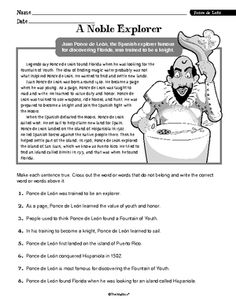 free printable high school reading comprehension worksheets