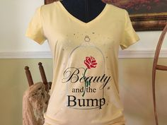 Beauty and The Beast Inspired Maternity by MommasCraftCorner