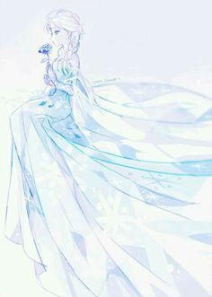 Frozen Elsa of disney Disney Pixar, Deco Disney, Arte Disney, Frozen Disney, Disney And Dreamworks, Disney Animation, Disney Magic, Disney Characters, Elsa Frozen