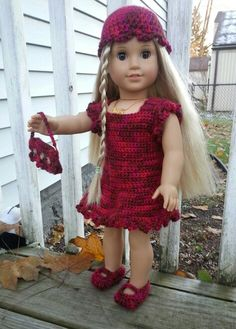 Crochet American Girl Outfit