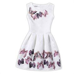 11.21$  Buy here - http://alijn7.shopchina.info/go.php?t=32660304994 - Girl Dress Summer 2017 Dresses For Girls of 12 years Sleeveless White beach wedding flower girl dresses vestido  fiesta nina 15 11.21$ #shopstyle