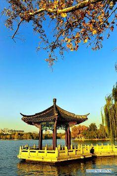 Beautiful scenery of Daming Lake in Jinan  http://www.chinatraveltourismnews.com/2012/11/beautiful-scenery-of-daming-lake-in.html