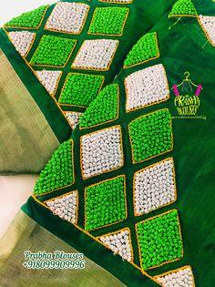 zardosi work on sleeve & sleeve zardosi work Hand Embroidery Dress, Kurti Embroidery Design, Embroidery Neck Designs, Hand Embroidery Videos, Aari Embroidery, Black Blouse Designs, Kids Blouse Designs, Hand Designs, Hand Work Design