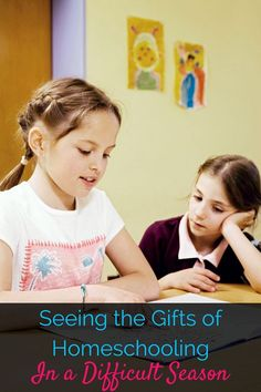 It can be really difficult to see homeschooling as a blessing during a difficult season, but I'm sharing the gifts that help get me through!