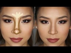 How to Contour & Highlight Your Nose in Less Than 5 minutes! - YouTube