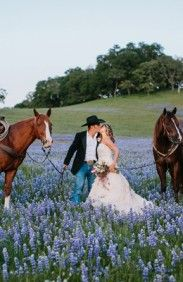 LUPINE covered fields - Carmel Valley Ranch Wedding Ideas by Christine Cater (Production, Event Design + Floral Design) + Orbie Pullen Photography - via ruffled Cowgirl Wedding, Horse Wedding, Wedding Pictures, Dream Wedding, Wedding Day, Western Wedding Ideas, Cowboy Weddings, Western Weddings, Ranch Weddings