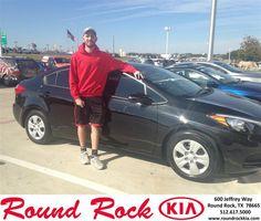 https://flic.kr/p/DPsRXG | Happy Anniversary to Joseph on your #Kia #Forte from Bobby Nestler at Round Rock Kia! | deliverymaxx.com/DealerReviews.aspx?DealerCode=K449