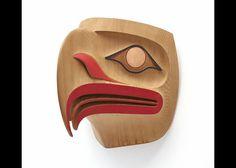 Transforming Spirit: The Cameron/Bredt Collection of Contemporary Northwest Coast Art Haida Art, Indian Artwork, Tribal Art, Eagle Mask, Native American Masks, Maori Tattoo, Art, Pacific Northwest Art, Art Display