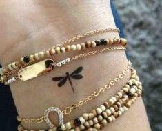 Simbologia della libellula tatuaggio