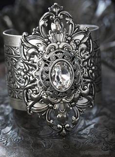 Vintage Ice Cuff Bracelet