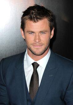 Chris Hemsworth (Those eyes, though.)