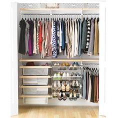 7 Steps To Choosing And Installing The Perfect Elfa Closet System For Youru2026  Small Apartment