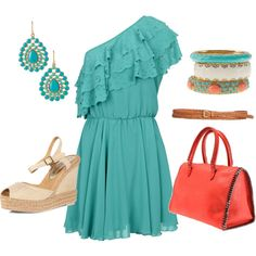 Summer fun, created on Polyvore