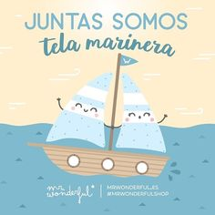 Porque somos la mar de saladas y pasarlo bien contigo es coser y cantar, ¡juntas tenemos mucha tela! We are cut from the same cloth. Because you two are so alike it is as if you were bought from the same store, you truly are cut from the same cloth! #mrwonderfulshop #quotes