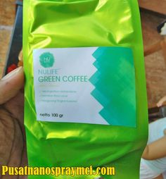 Jual NULIFE Green Coffee Herbal Pelangsing