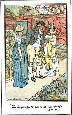 Mr. Collins's Garden (from Pride and Prejudice, of course) #janeausten