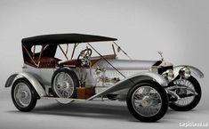 1915 Rolls Royce Silver Ghost Tourer.