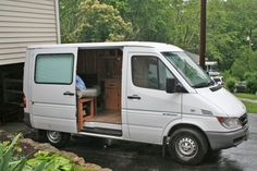 Sprinter RV: Max 2.0, DIY Sprinter Camper Van --- Something this size - that's my idea - with a tiny kitchen & bathroom -- and transformed into a Gypsy Vardo!