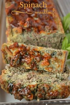 Looking for an easy healthy recipe for kids that will get them to eat their veggies? Try our Spinach mushroom meatloaf! They'll never suspect the swaps!