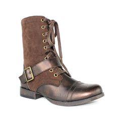 Olivia Miller Blaze Women's Military Boots, Girl's, Size: