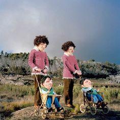 Fotos surrealistas de Polixeni Papapetrou. Mais sobre: http://polixenipapapetrou.net/index.php