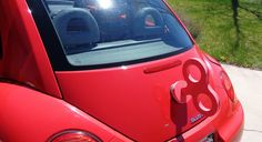 VW Beetle Red Wind Up Key