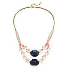 Calista Necklace by David Aubrey $ 41.95 @ Joss n Main For Boogie's wedding, with coral, silver or navy rockabilly style dress